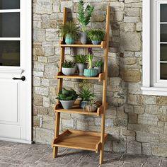 Found it at Wayfair.co.uk - Maserno Rectangular Ladder Plant Holder