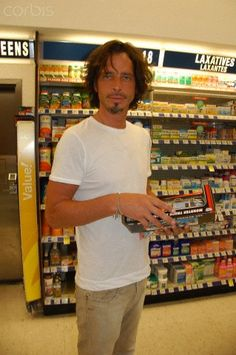 I'm sorry but Chris Cornell is near the laxatives. .......stole too much bread