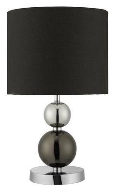 Stolní lampa SEARCHLIGHT SL 2369BK | Uni-Svitidla.cz Moderní pokojová #lampička vhodná jako doplňkové osvětlení domácnosti či kanceláře #modern, #lamp, #table, #light, #lampa, #lampy, #lampičky, #stolní, #stolnílampy, #room, #bathroom, #livingroom
