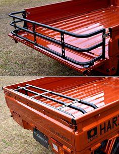 Mini Trucks, Cool Trucks, Pickup Trucks, Cool Cars, Truck Roof Rack, Truck Bed, Accessoires 4x4, Vw T3 Doka, Toyota Hilux
