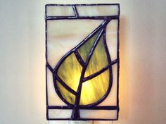 Stained Glass night light :) Pretty! $29.99