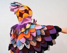Parrot Costume Bird of Paradise Cape Bird Wings by AtelierSpatz