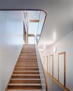 Joos & Mathys Architekten - Zürich - Architekten Stairs, Construction, House, Interiors, Detail, Home Decor, New Construction, Architecture, Switzerland