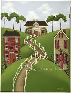 Catherine Holman Folk Art