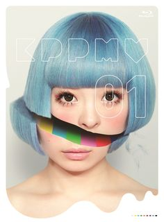 "Cover Art for Kyary Pamyu Pamyu's First Ever MV Collection DVD/Blu-ray ""KPP MV01″ Revealed!"