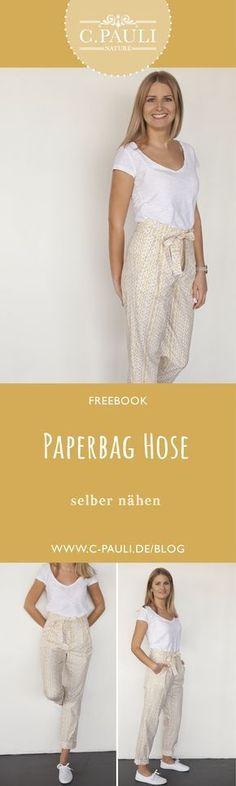 Moderne high waist Paperbag Hose! | C.Pauli Nature Blog