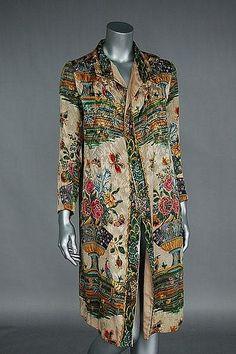 1920's coat OMG that dress!