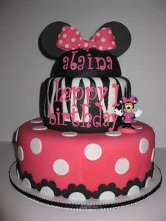 Minnie Mouse and Zebra Print Birthday Party Ideas | Photo 3 of 24 | Catch My Party