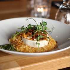 The perfect balance of Truffle and Pumpkin, this Recipe is really getting us in the Holiday Spirit. Warm and savory Pumpkin Risotto is Easy to Make and Gourmet! #gourmet #italian #pumpkin