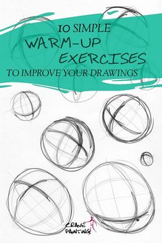 12 simple Warm-Up Exercises that will Transform your Drawing Practice