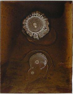 D-13.Mar.2008 reverse painting on glass 林孝彦 HAYASHI Takahiko 2008