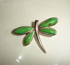 green turquoise sterling dragonfly pendant   ... sterling silver green gaspeite dragonfly pendant gaspeite dragonfly