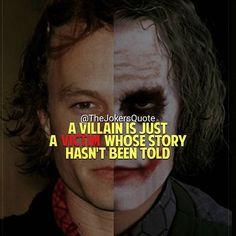 Guess....i m a villain then