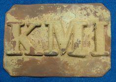 Kentucky Military Institute Belt Buckle
