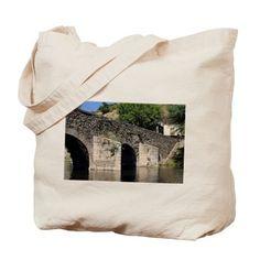 Roman Bridge, El Camino, Molinaseca, Spai Tote Bag on CafePress.com