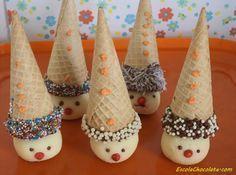 Descubra como fazer um cone trufado muito especial. Esse cone trufado palhacinho é perfeito para agradar a criançada. Confira!