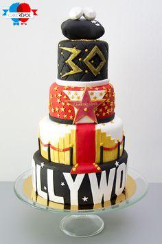 NOS CRÉATIONS - Hollywood Star - CAKE RÉVOL - Cake Design - Nantes