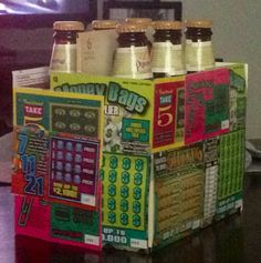 Great idea for a stag party raffle party prizes, raffle prizes, game prizes, Party Prizes, Raffle Prizes, Game Prizes, Casino Party, Raffle Ideas, Prize Ideas, Party Games, Stag And Doe Games, Lottery Ticket Gift