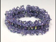 FREE Project: Ogalala Lace Bracelet -  #Seed #Bead #Tutorials