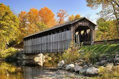 Historic Fallasburg Covered Bridge - Lowell , Michigan by Michigan Nut, via Flickr
