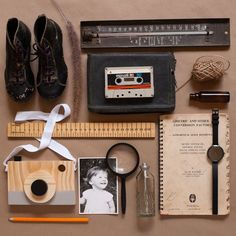 """FLAT LAY CREATIVE on Instagram: """"Simple but sentimental flatlay created for @_peachandpop_ using the clients personal memorabilia. #peachandpop #flatlaystyle…"""" Flatlay Styling, Creative Photography, Flat Lay, Flats, Create, Simple, Instagram, Loafers & Slip Ons, Flat Shoes"""