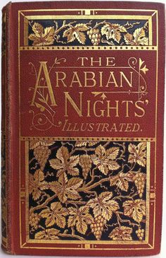 The Arabian Nights' Entertainments, London: Milner and Company  1870's | Beautiful Antique Books