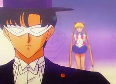 Sailormoon R. Episode 61: Huge Shock for Usagi! Mamoru Declares a Breakup. Tuxedo Mask and Sailor Moon