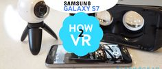 #Samsung Galaxy S7 hands-on [How to #VR]