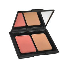 Blush And Bronzer - Add a natural flush to your cheeks and contour your cheekboneswith this blush and bronzer duo.