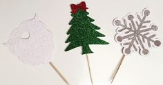 Loved these cupcake toppers from our Christmas Soirée! Find us on Instagram! @Soiree_All_Day