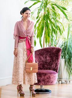 Look da Alice Ferraz em tons de rosa: Cashpash Carol Bassi