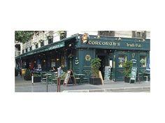 Corcoran's Irish Pub.  Paris, France.