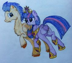 Pics For > My Little Pony Princess Twilight Sparkle And Flash ...