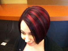Elumen color from Goldwell USA done by: Me (Emily Eaton) at One Salon www.myonesalon.com #hair #haircolor #hairdesign