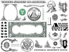 One Dollar Bill Design Images Photoshop Transparent File PNG Graphics Vignette Graphic Design Services, Logo Design, Money Origami, Origami Boxes, Dollar Origami, Origami Paper, Money Template, Gangsta Tattoos, One Dollar