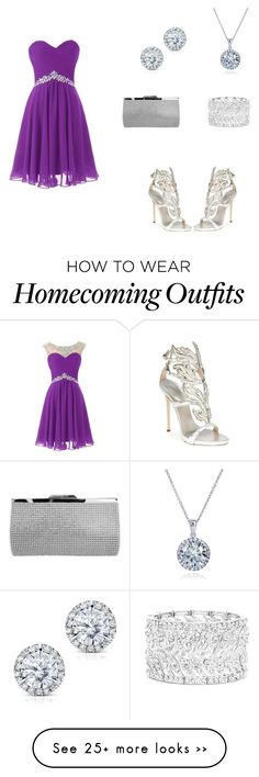 """""""The Royals"""" by evcd on Polyvore featuring Nina, Ella Carter, Kobelli and Giuseppe Zanotti"""