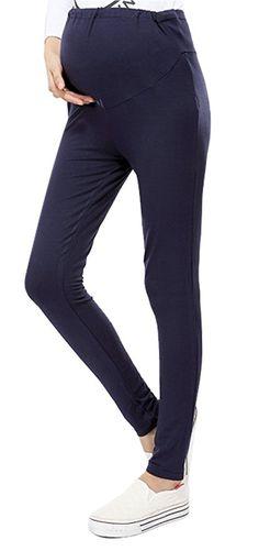 24d58edbaba77 AshopZ Cotton Casual Women's Solid Maternity Leggings, Black at Amazon Women's  Clothing store: