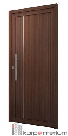 Interior wood doors are naturally beautiful. This is especially true if you are going to choose solid hardwood. Flush Door Design, Front Door Design Wood, Main Entrance Door Design, Wooden Door Design, Bedroom Door Design, Door Design Interior, Interior Barn Doors, Modern Wood Doors, Wooden Doors