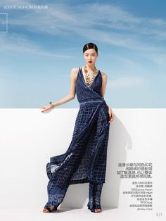 ASIAN MODELS BLOG: EDITORIAL: Sung Hee Kim in Vogue China, June 2014