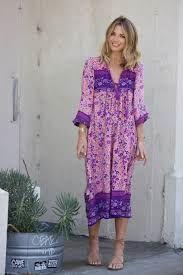 "Boho Maxi Dress ""Folk Town"" Pink & Purple Floral Peasant Sleeved Long Festival Gown Small Medium Or Large Gypsy Look, Hippie Look, Gypsy Style, Boho Hippie, Bohemian, Boho Chic, Estilo Hippy, Boho Mini Dress, Fashion 2020"