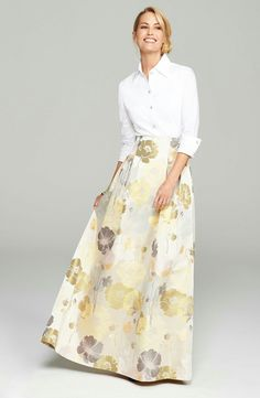 Mother of the Bride Dress Eliza J Blouse & Ball Skirt available at Mother Of The Bride Skirts, Mother Of Groom Dresses, Mothers Dresses, Mob Dresses, Fall Dresses, Fashion Dresses, Wedding Dresses, Bride Dresses, Bridesmaid Dresses