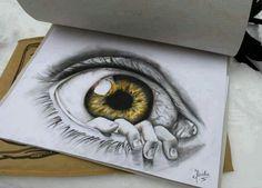 Eye. Drawing