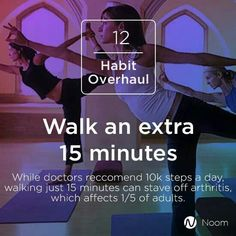 Did you walk 15 minutes today, intentionally?