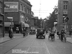 Anna Paulownastraat/Laan van Meerdervoort met Heemaf verkeerslichten foto uit de collectie van Emile Bruggeman