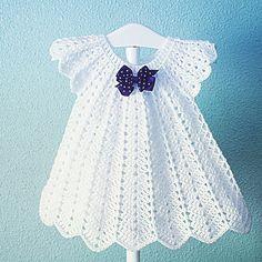 Hello Crochey Friends You Already Have - Diy Crafts Crochet Dress Girl, Crochet Baby Dress Pattern, Baby Girl Dress Patterns, Black Crochet Dress, Baby Girl Crochet, Crochet Baby Clothes, Baby Girl Dresses, Crochet For Kids, Baby Patterns