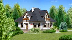 Wizualizacja Dom przy Sielskiej 2 CE