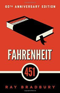Fahrenheit is a book, which despite the fat that it was published more than 60 years ago, is still very much relevant now. It's about rapid, fast lifestyle, where people do not have time to just stop and think. About times, where people believe everything that they are told on television. About times, when being different can be dangerous.