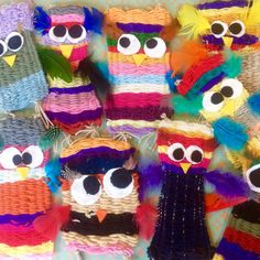 Uiltjes Veetje School Projects, Projects For Kids, Art Projects, Crafts For Kids, Arts And Crafts, Teaching Art, Teaching Ideas, 3rd Grade Art, Weaving Projects