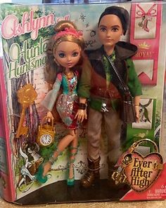 Monster High Spin-off line of Ever After High Doll's Ashlynn and Hunter  Newly Released