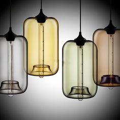 Kaufen (EU Lager)Modern Glas Pendelleuchte in Blase-Design mit Günstigste Preis und Gute Service!